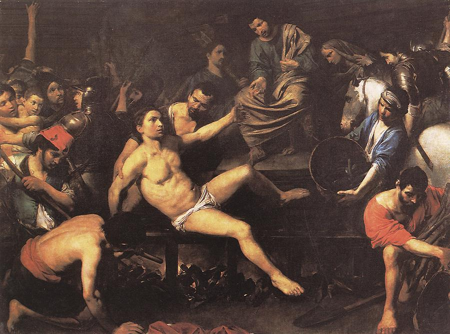 Martyrdom of St Lawrence 1622-23