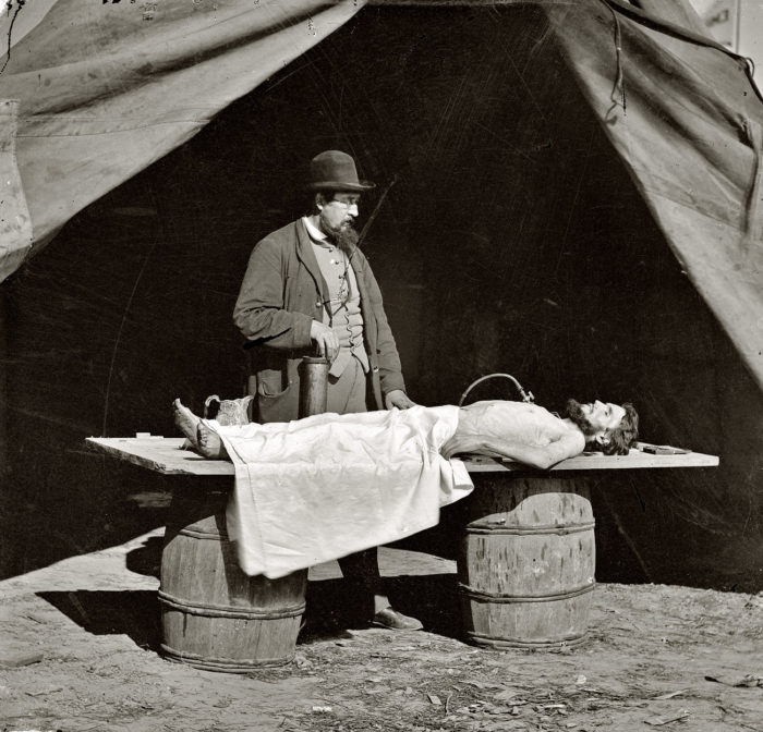 Dr. Richard Burr, Embalmer