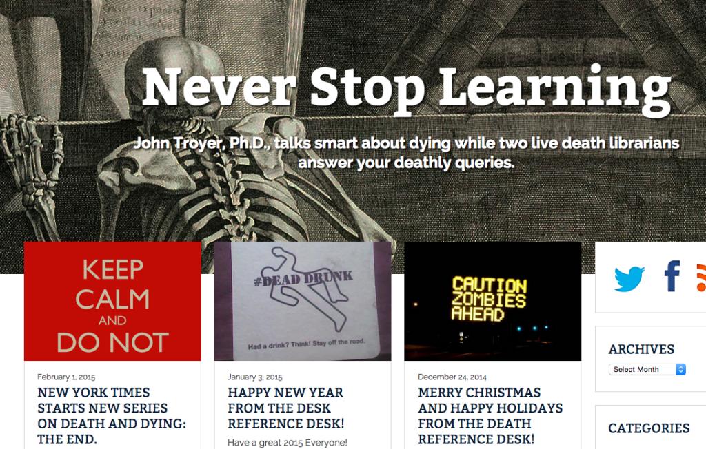 Death positive websites