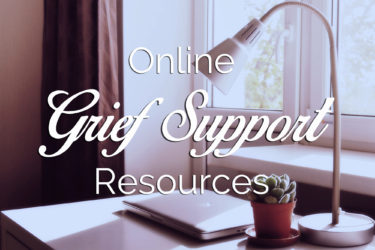 online grief support forum