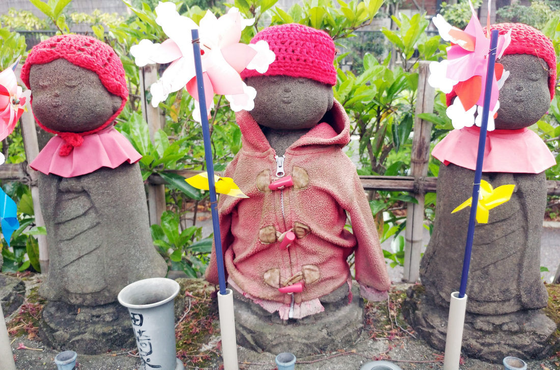 Mizuko Kuyo jizo statue