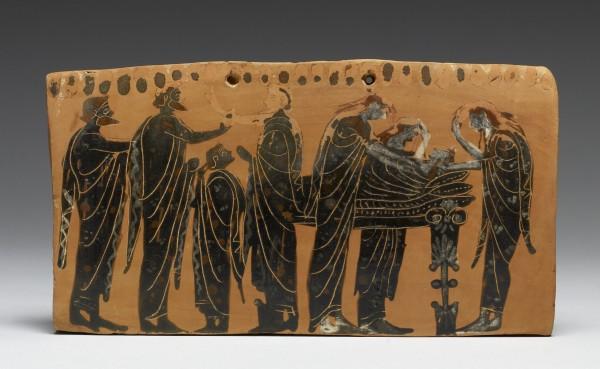 Greek funerary rites burial rituals