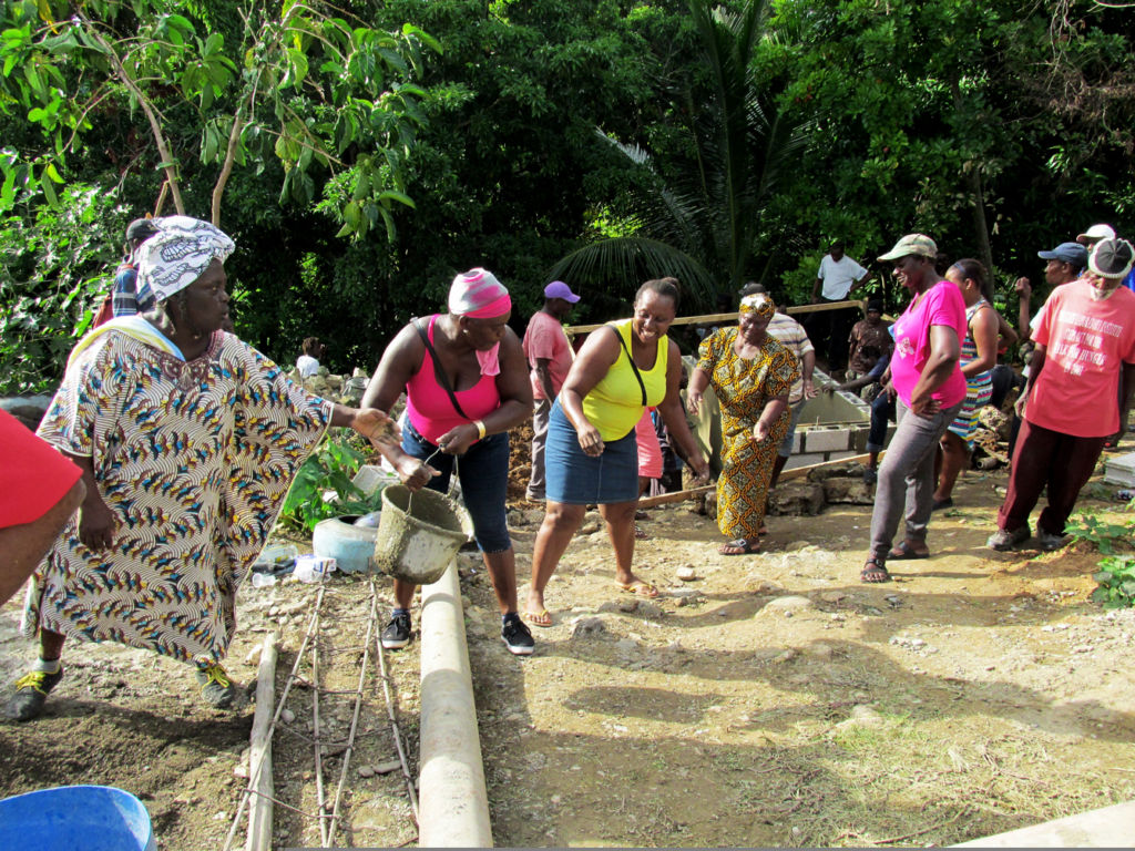 Traditionally the community would participate in grave-digging and casket-making free of cost. *** Local Caption *** Traditionally the community would participate in grave-digging and casket-making free of cost.