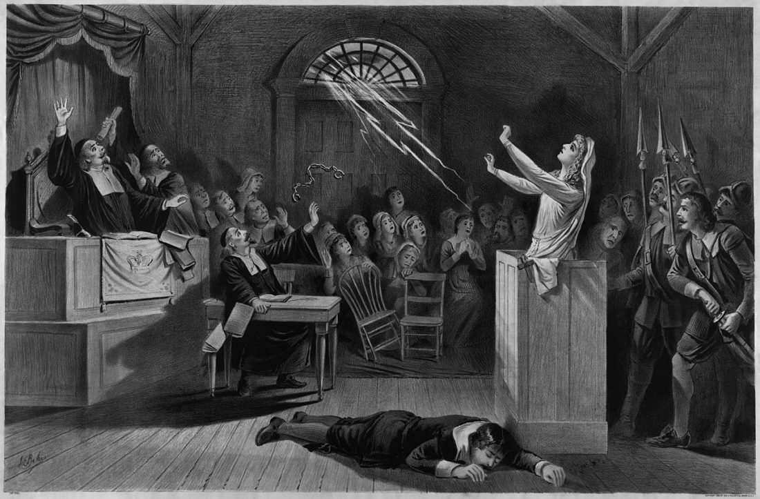 salem witch trials mass hysteria