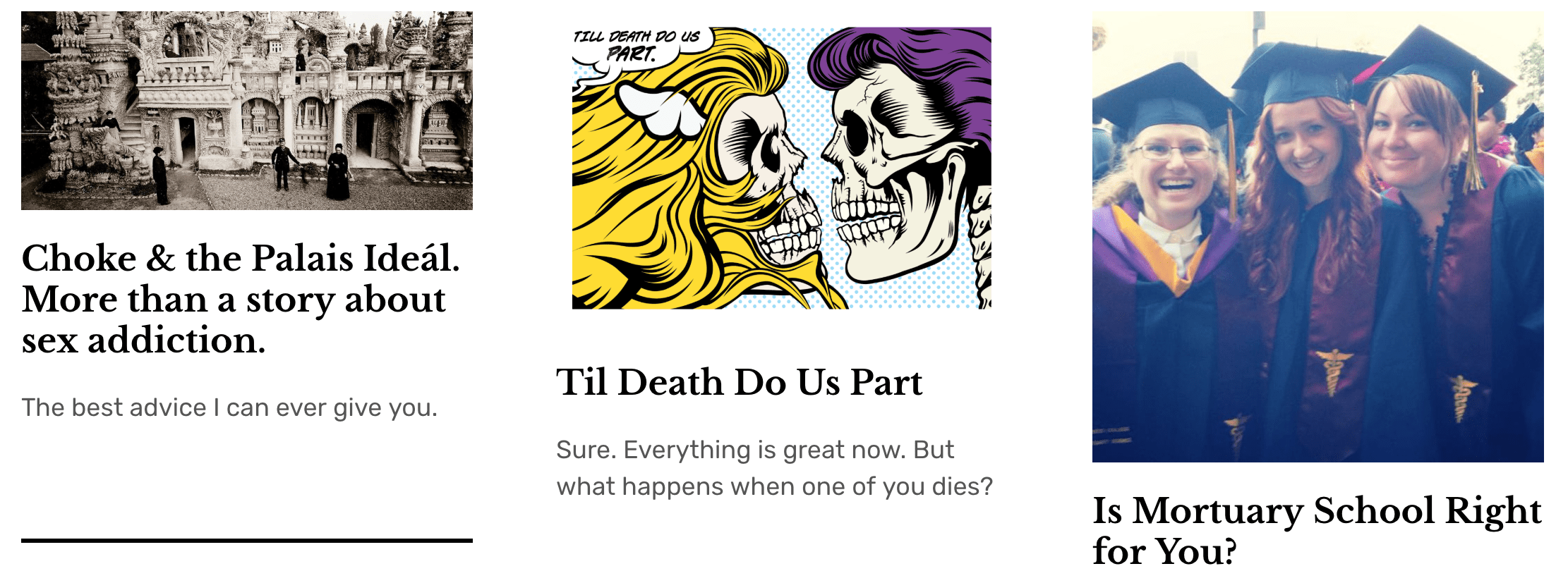 death positive websites and blogs