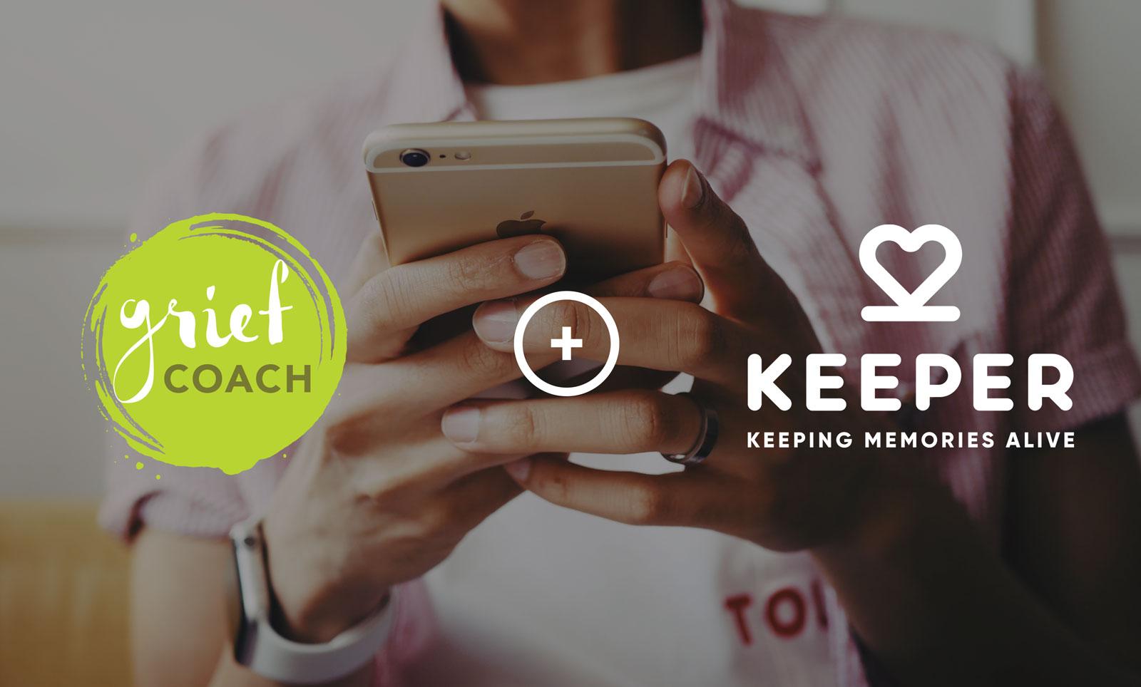 Keeper Online Memorials and Grief Coach